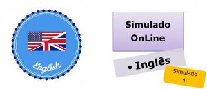 Simulado online com gabarito de Inglês 01 enem vestibulares