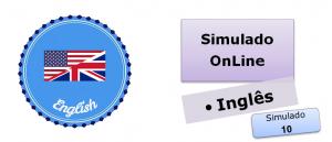 Simulado online com gabarito de Inglês 10 gabarito, vestibular
