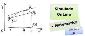 Simulado online com gabarito de Matemática 10 enem vestibulares