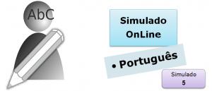 Simulado online com gabarito de Português 05 enem vestibulares