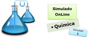 Simulado online com gabarito de Química 02 enem vestibular