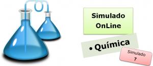 Simulado online com gabarito de Química 07 enem vestibulares
