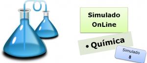 Simulado online com gabarito de Química 08 enem vestibulares