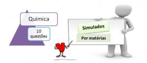 Simulado por matéria Química 10 questões com gabarito vestibular1