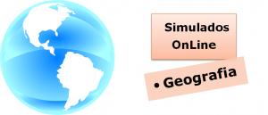 Simulados online com gabarito de Geografia vestibular enem