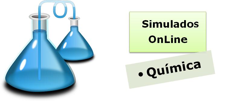 Simulados online com gabarito de Química enem vestibulares