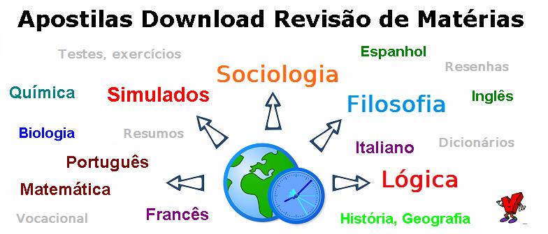 Apostilas download Revisão Matérias, assuntos selecionados, revisão