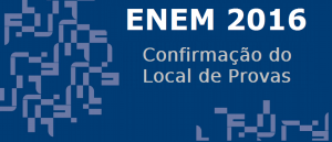 Confirmação do Local de Provas do Enem 2016 por vestibular1