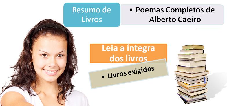 resumo livro Poemas Completos de Alberto Caeiro