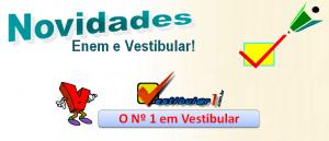 Vestibular1 Novidades de vestibular