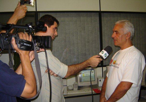 Entrevista para a TV por Vestibular1