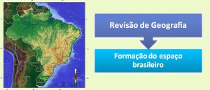 Formação do espaço brasileiro Revisão de Geografia por Vestibular1