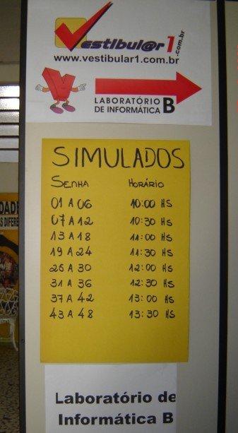 Indicação de Simulado e simulados