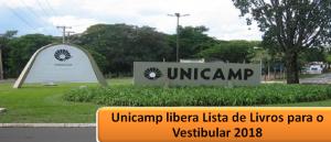 Unicamp libera Lista de Livros para o Vestibular 2018 em Vestibular1