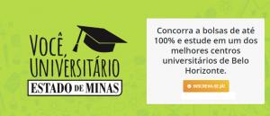 Bolsas de estudos pelo Concurso Você, Universitário por Vestibular1