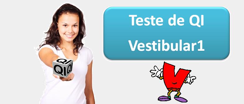 Teste de QI, teste de qi do vestibular1