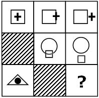 Teste de QI, preencha o espaço vazio da figura p8.