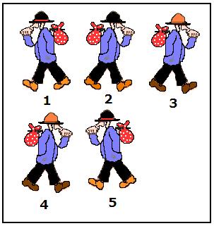 Teste de Raciocínio com imagens - Quadro II, Vestibular e Enem