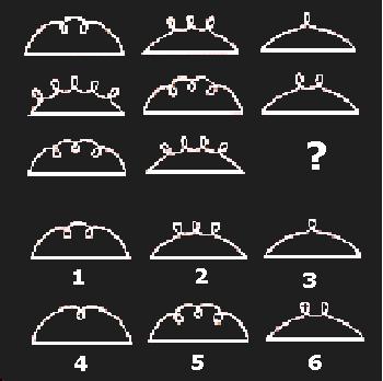 Teste de Raciocínio com imagens 2 - Quadro 2, vestibular e Enem
