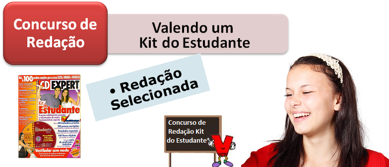 Redação de Selecionada do Concurso de Redação Kit do Estudante por Vestibular1