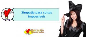 Simpatia para coisas impossíveis por Vestibular1