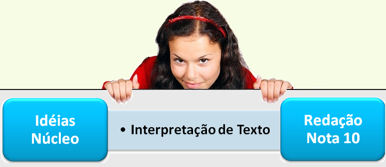 Ideias Núcleo Interpretação de Texto no Vestibular1