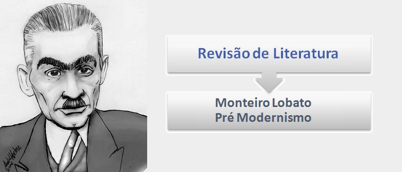 Monteiro Lobato Pré-Modernismo Literatura por Vestibular1