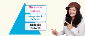 Níveis de leitura Interpretação de Texto no Vestibular1