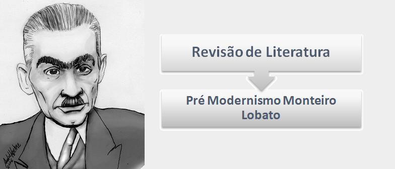 Pré Modernismo Monteiro Lobato Literatura por Vestibular1