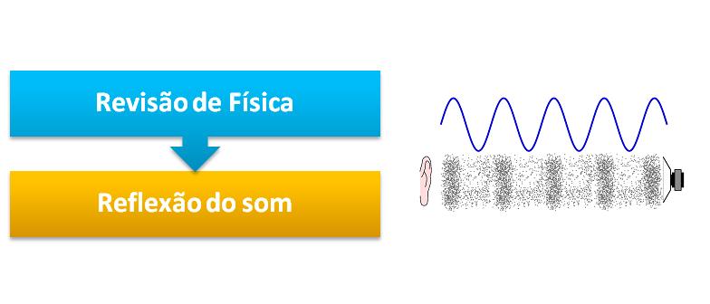 Revisão de Física: Reflexão do som 2 por Vestibular1