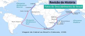 Revisão de História: Fatos do Descobrimento do Brasil em Vestibular1