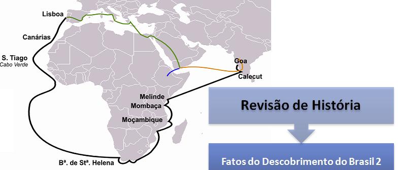 Revisão de História: Fatos do Descobrimento do Brasil 2 por Vestibular1
