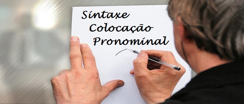 Sintaxe Colocação Pronominal - Português por Vestibular1