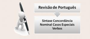 Sintaxe Concordância Nominal Casos Especiais Verbos no Vestibular1