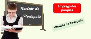 Emprego dos porquês Vestibular1 Revisão de Português