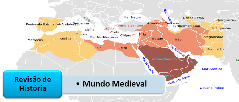 Mundo Medieval Revisão de História Geral Vestibular1