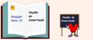 Noções de Dissertação Vestibular1 Redação Nota 10