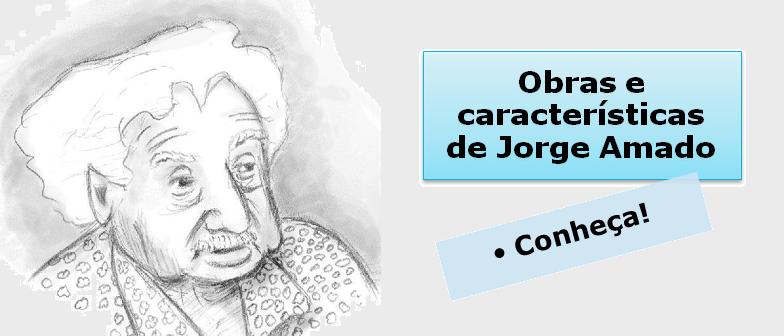 Obras e características de Jorge Amado por Vestibular1