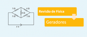 Revisão de Física: Geradores por Vestibular1