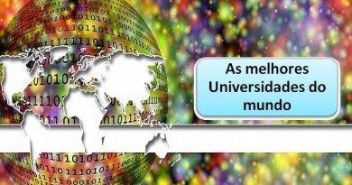 As melhores Universidades do mundo por Vestibular1