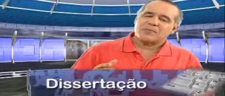 Dissertação Vídeo Aula Redação Aula 07 Redação Vestibular1