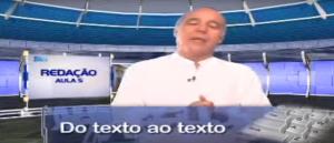 Redação Do texto ao texto Vídeo Aula Redação Aula 05 Vestibular1