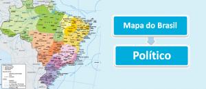Atlas: Mapa Político do Brasil Mapas Vestibular1