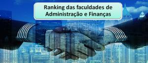 Ranking das faculdades de Administração e Finanças por Vestibular1