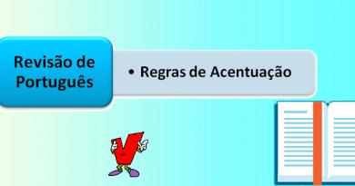 Regras de Acentuação Revisão de Português Vestibular1