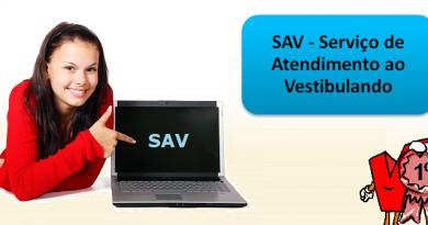 SAV - Serviço de Atendimento ao Vestibulando por Vestibular1