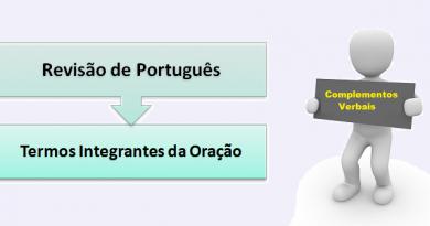 Termos Integrantes da Oração Português Enem