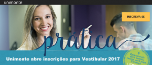 Unimonte abre inscrições para Vestibular 2017 Vestibular1