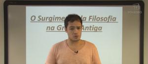 Vídeo Curso de Filosofia Aula 02 Surgimento da Filosofia na Grécia