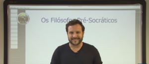 Vídeo Curso de Filosofia Aula 03 Os Filósofos Pré Socráticos